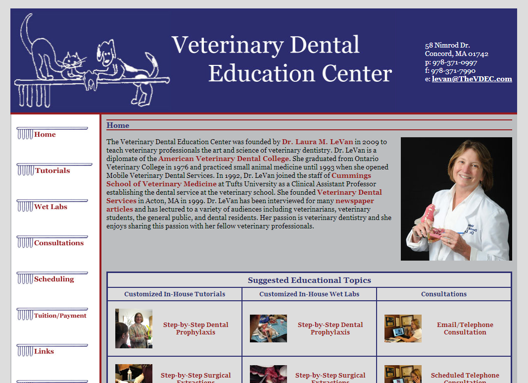 Veterinary Dental Education Center