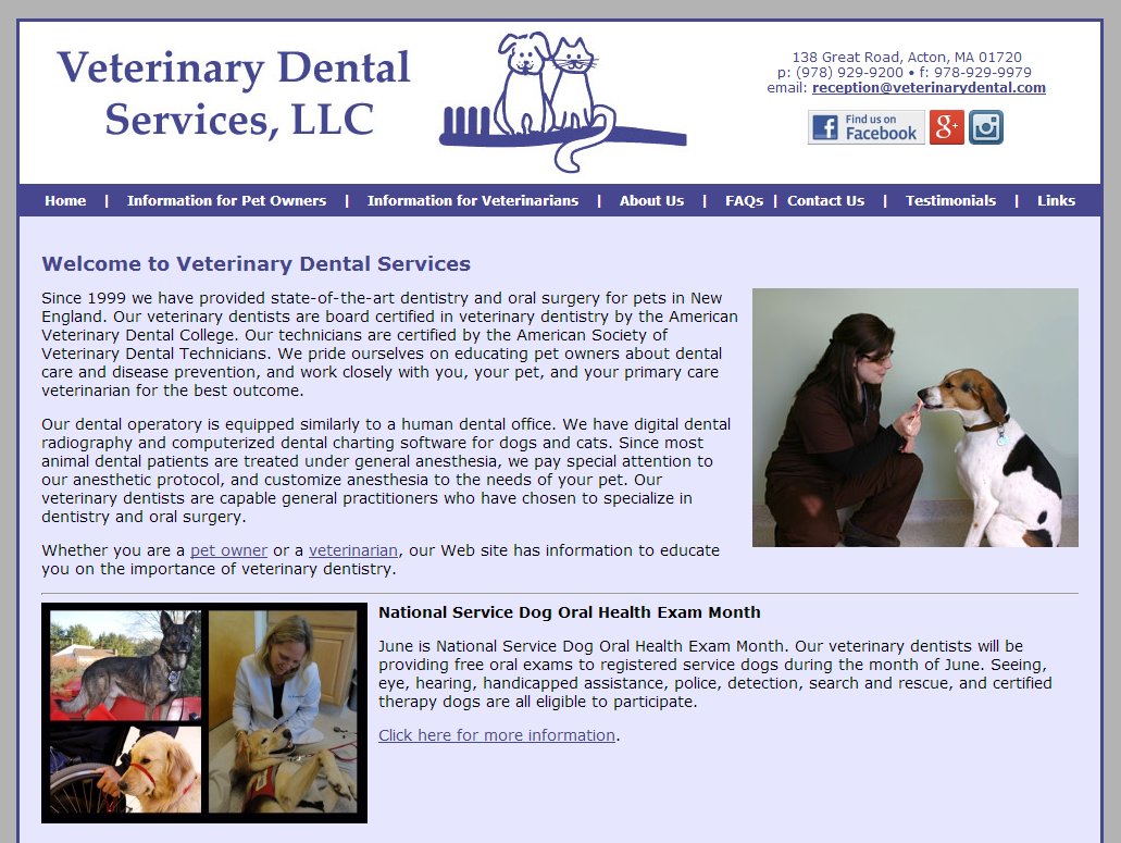 Veterinary Dental Services LLC
